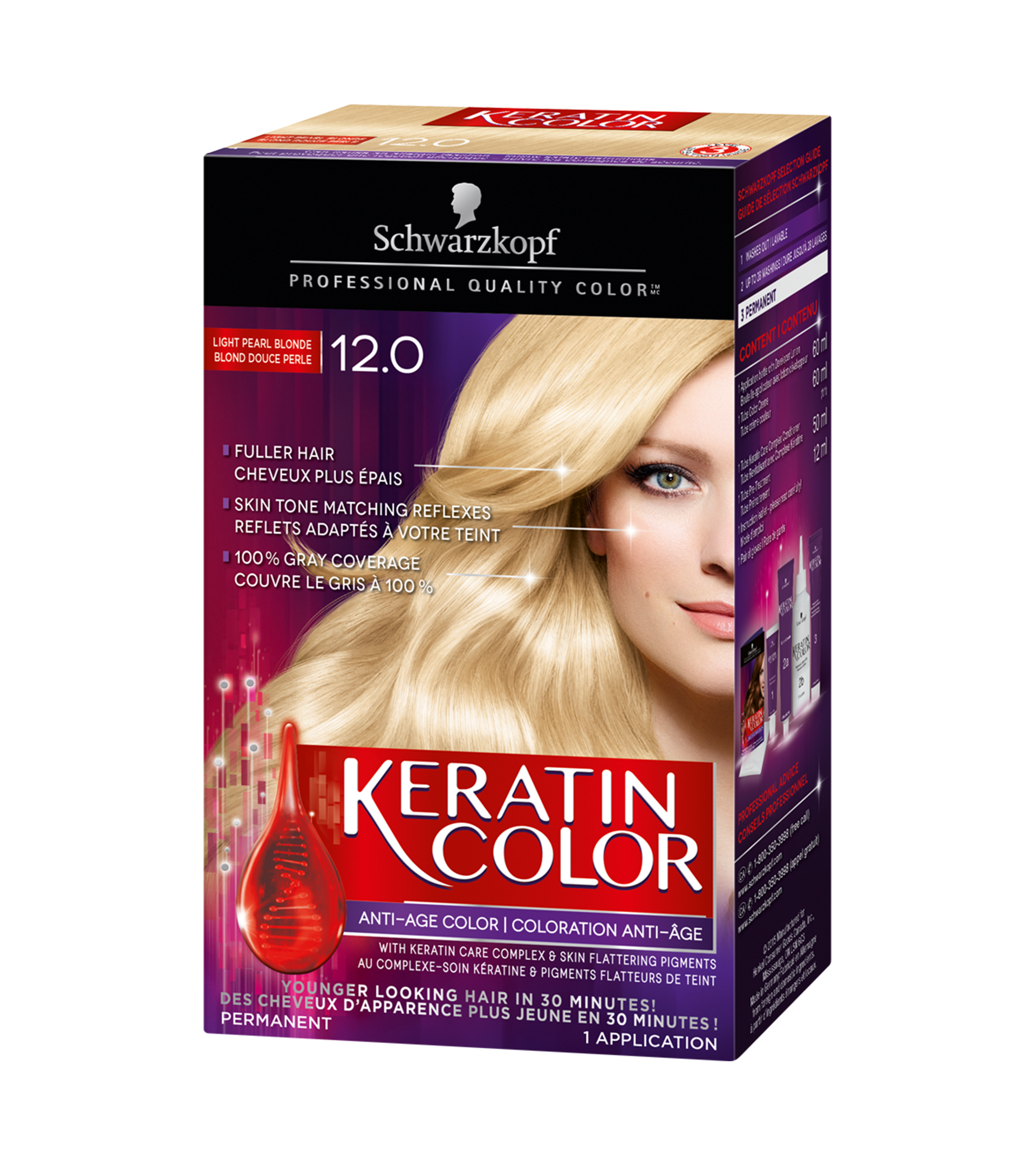 120 blond douce perle - Coloration Blond Perle