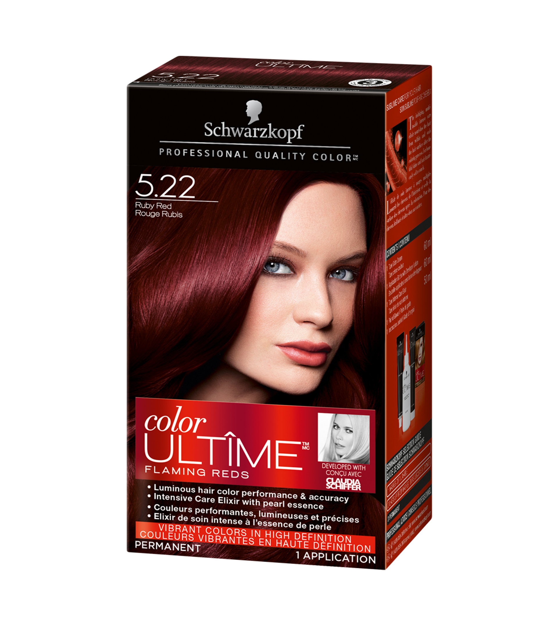 522 rouge rubis - Coloration Rouge Schwarzkopf
