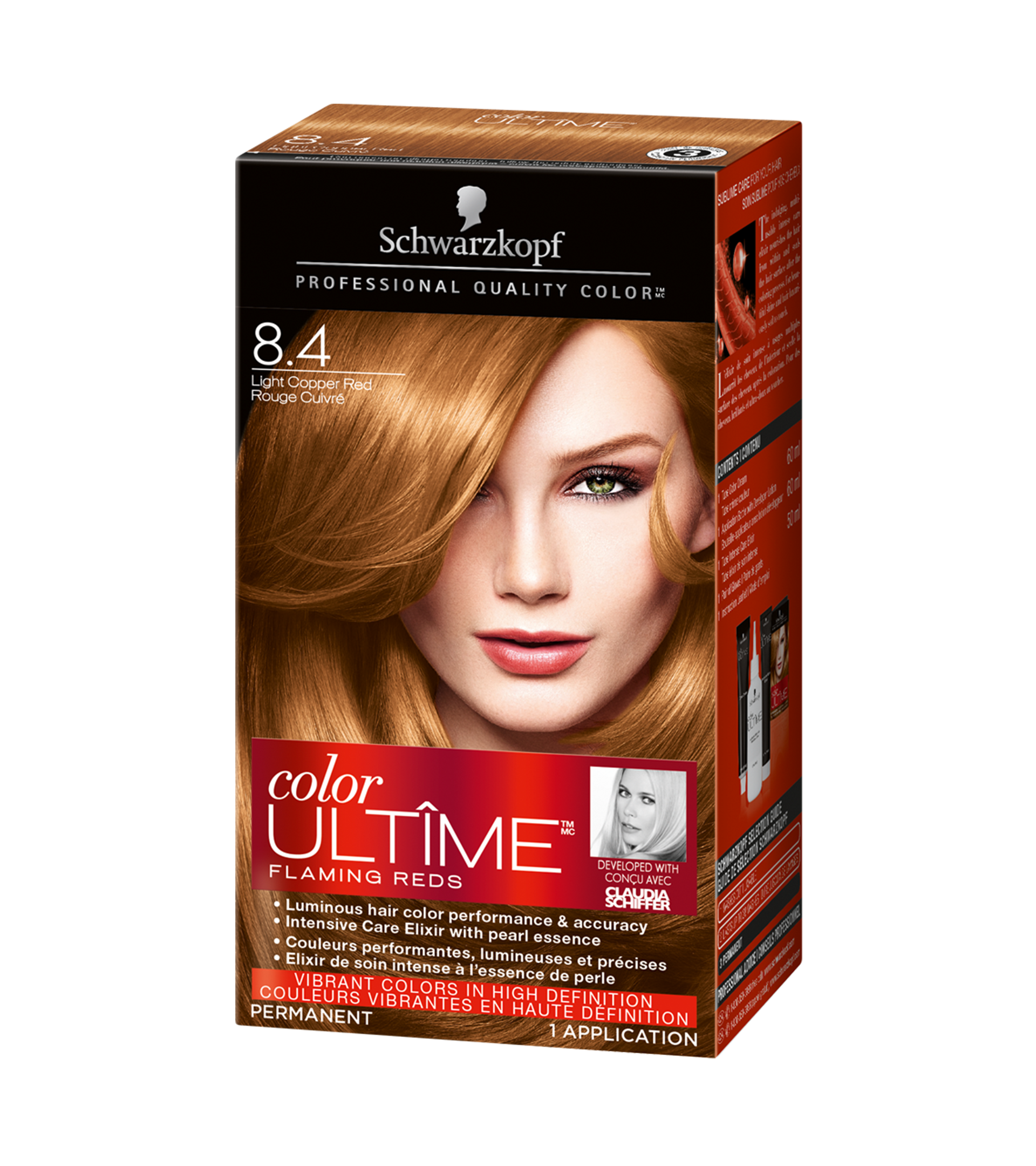 Pics Photos - Products Hair Color Color Ultime 5 24 Cinnamon Brown